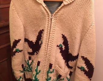 Duck Knit Sweater