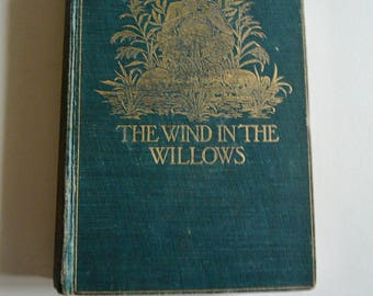Wind in the Willows - First Edition/1st Printing - Kenneth Grahame - 1908 Rare