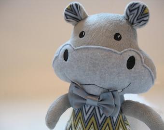 Dress Up Hippo Stuffie **Large**