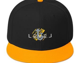 LevelUp half puff Snapback Hat