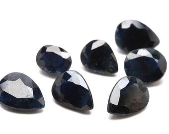 5.67 CTW Seven Loose Faceted Natural Blue Sapphires