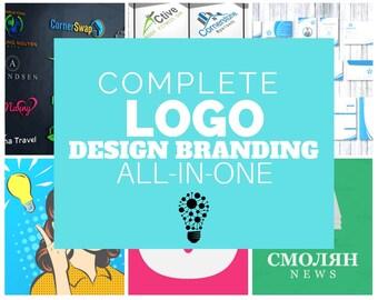 Complete Business Branding, Logo Design, Business card design, Letterhead, Social media Covers, Envelope