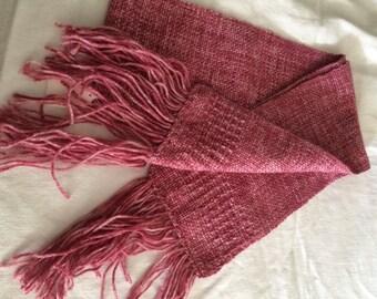 Scarf, Varigated Pink