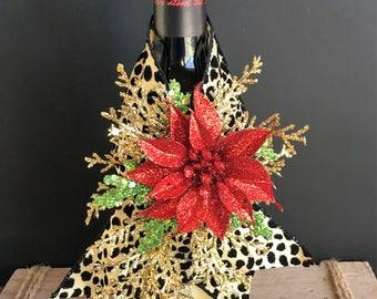 Leopard Wine Wrap