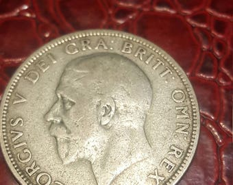 1929 Great Britain Uncertified Silver George V Florin