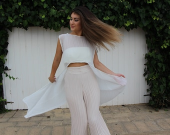 Pleated Over-top