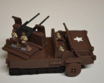 Handmade WWII US Army Half-Track Anti-Air