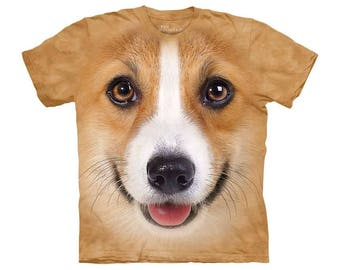 T-Shirt - Dogs - Corgi - Dog Shirt - Fun Dog Shirt - Love Dogs - New Softstyle Unisex T-Shirt - Dog Lover Gift - Graphic Tee - Animals Shirt