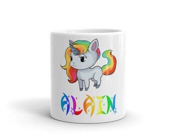Alain Unicorn Mug