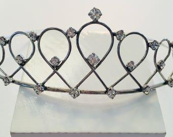 Small vintage tiara