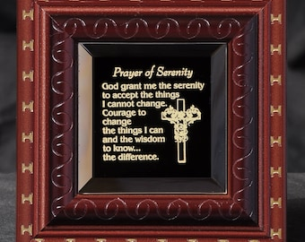 Gift of Prayer of Serenity Inspirational Gift for any Occassion