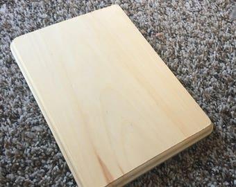6.5x9 wood panel