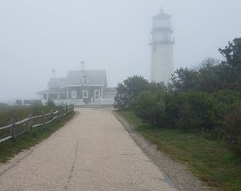 Foggy Lighthouse