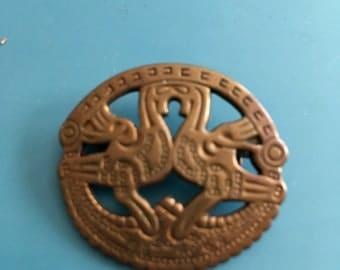"""Kalevala Brooch """"Kuhmoisten"""" design after Viking find from Papinsaari in Kumoinen."""