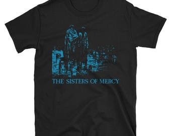 The Sisters of Mercy Shirt, Patricia Morrison, The Mission, The Cure, The Smiths, Joy Division, Siouxsie and TheBanshees, Goth, Punk,