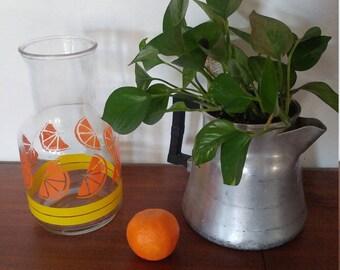 Libbey glass carafe