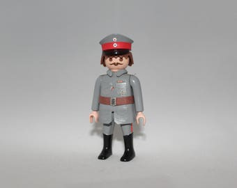 Custom WWI Deutsches Reich soldier made out of Playmobil® and custom parts