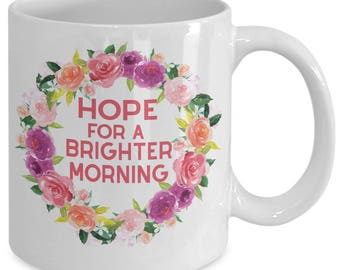 Oprah Speech - Globes New Day - Women Empowerment Mug -  Feminist Gift Mug - Hope For A Brighter Morning - Ceramic Coffee Tea Cup 11oz 15oz