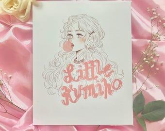 Little Kumiho Print