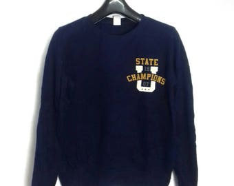 UT state champions sweatshirt crewneck jumper large size