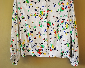 Vintage Eva Laurel Blouse