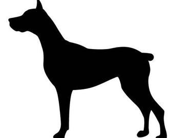 Great Dane Car Decal