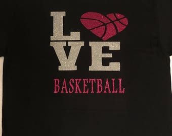 LOVE Basketball Tshirt