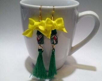 7-up Bottles earrings