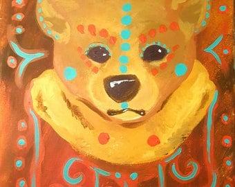 Spirit Bear Painting
