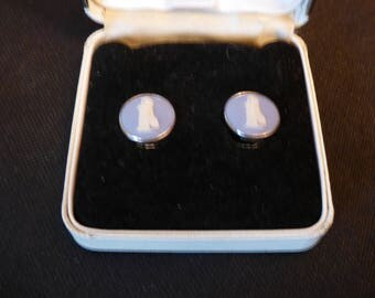 Wedgwood jasperware earrings