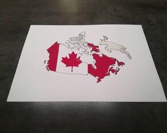 Canada drawing