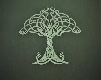 Celtic Tree of Life 2 Vinyl Decal