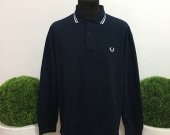 Fred Perry polo shirt Men's jersey tshirt TG. 46-117