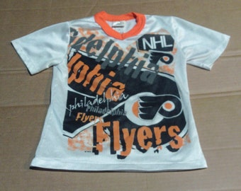 Philadelphia Flyers Jersey-Shirt - Boys Size 8-10