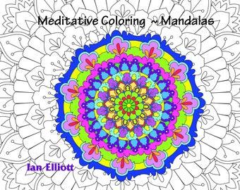 Printable  Mandala Coloring Book