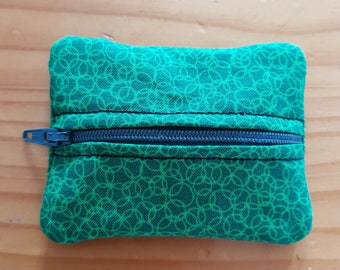 USB Zipper purse