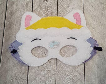 Snow Paw Masks Puppy, Hero, Working Dog, Patrol, Inspired Mask, Pretend Play, Imagination