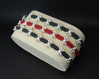Bracelet Fiori Silver