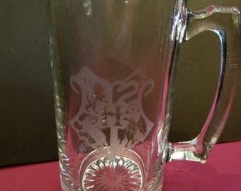 Hogwarts Crest Beer Mug