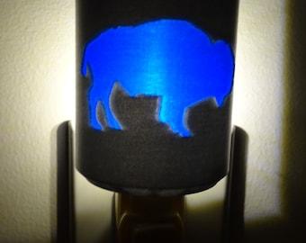 Buffalo Night Light