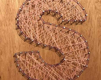 String Art Initial