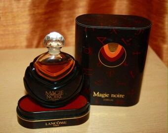Magie Noire parfum Lancome 15ml, vintaje France, 1977's