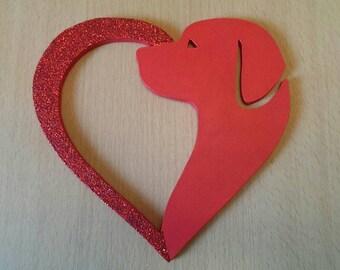 Dog Love Heart