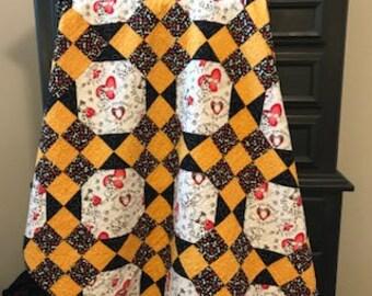 SAMPLE  Handmade plastic quilt