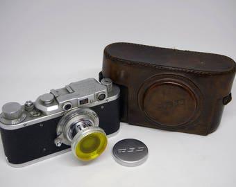 Unique Fed NKVD TRUDKOMUNNA  camera made on Leica base