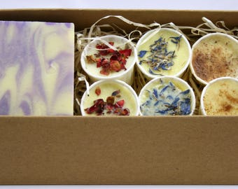 Natural Soap and Luxury Bath Melt Gift Set