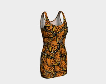 Fitted Dress - Monarch