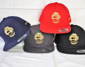 Snapback cap with LudwigvanB. Logo