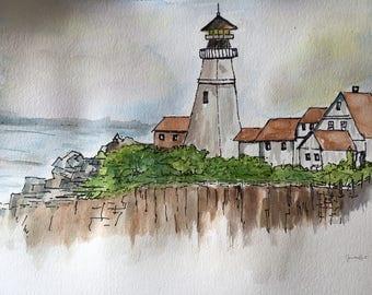 Original watercolour paintings