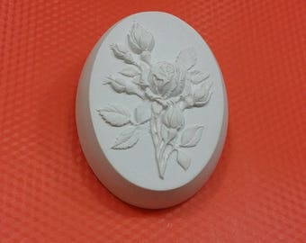 Soap mold, Icetray, Form for chocolate, Clean, Lyubov, St. Valentine, Day of love, Roza, a rose branch,